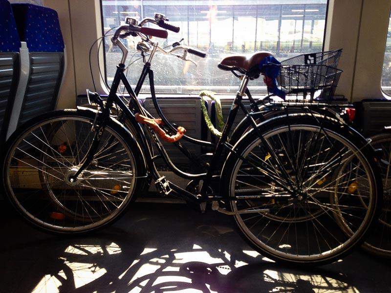 Mon vélo et sa copine