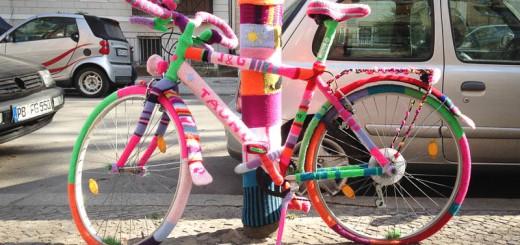 Pull en lain pour vélo sur le Blog de Berlin Photo Didier Laget