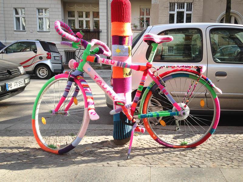 Pull en laine pour vélo sur le Blog de Berlin Photo Didier Laget