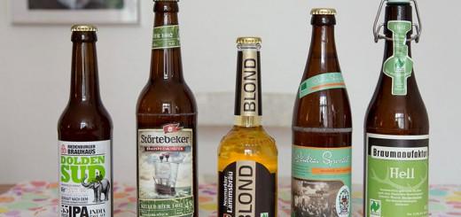 5 bières Bio A berlin - Photo copyright Didier Laget
