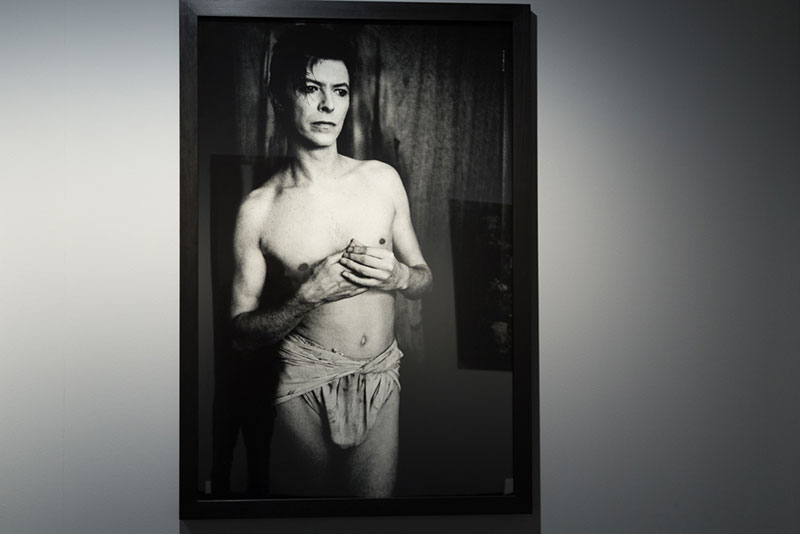 Expo Anton-Corbijn:  David Bowie dans la Photo de Tom Wait Photo DIdier Laget