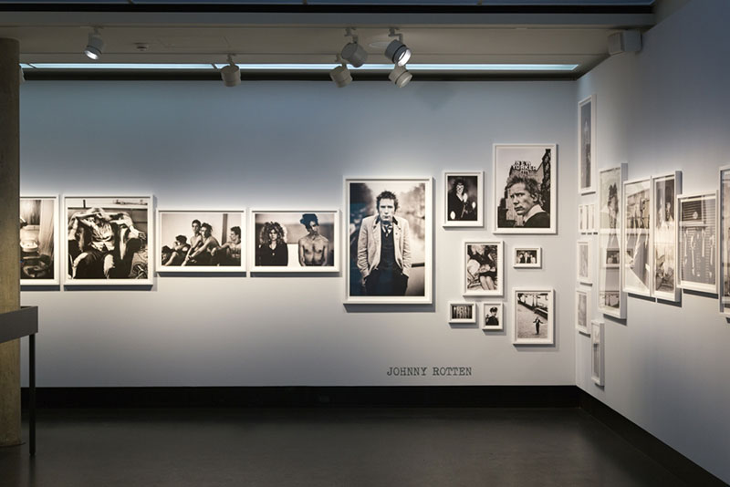Expo Anton-Corbijn:Johnny Rotten Photo Didier Laget