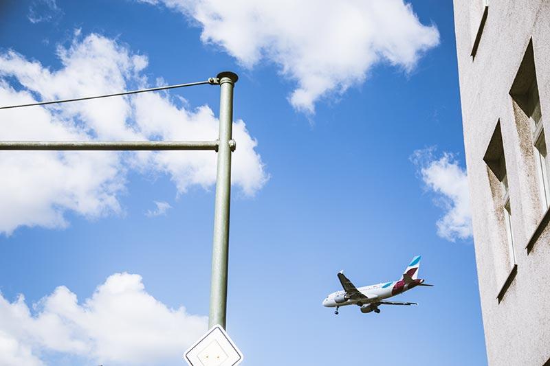 Un avion - Photo Didier Laget