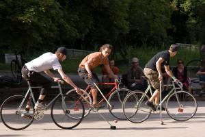 Bike-Polo A berlin - Photo copyright Didier Laget