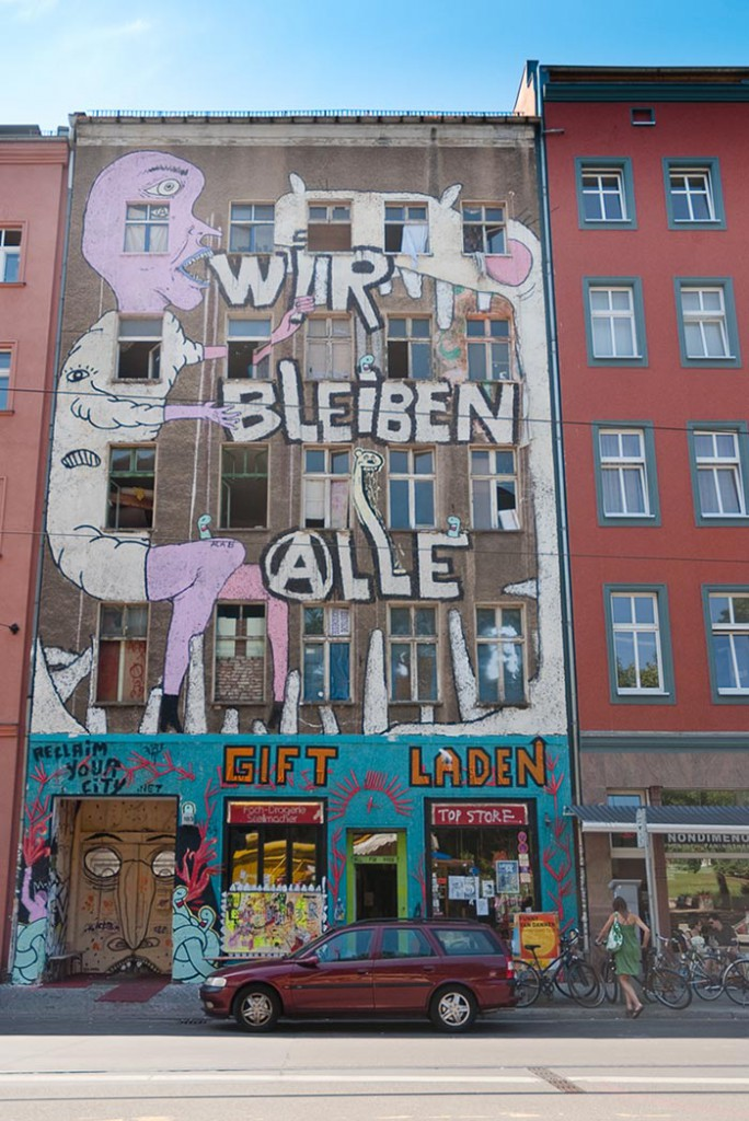 Brunnenstrasse A berlin - Photo copyright Didier Laget