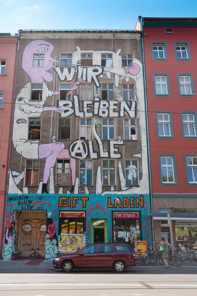 Brunnenstrasse A berlin - Photo copyright Didier Laget