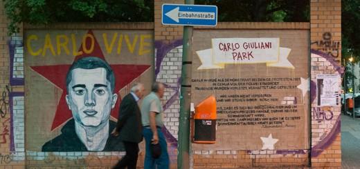 Carlo-Giuliani A berlin - Photo copyright Didier Laget