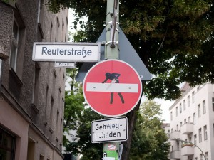 Clet-Abraham A berlin - Photo copyright Didier Laget