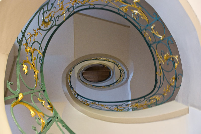 escalier A berlin - Photo copyright Didier Laget