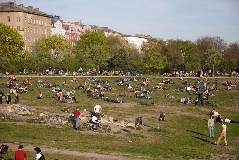 Görlitzer Park A berlin - Photo copyright Didier Laget