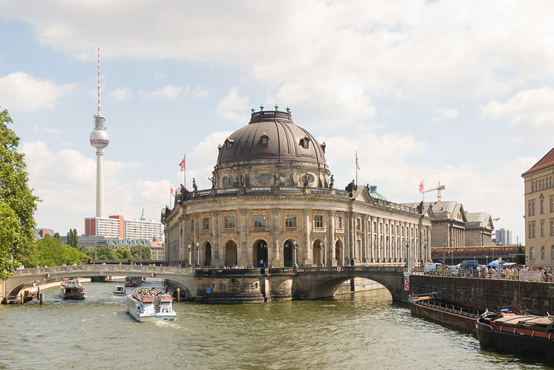 Bode museum A berlin - Photo copyright Didier Laget