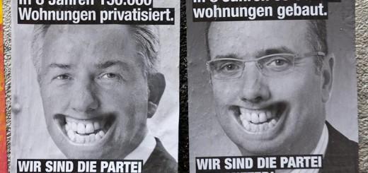 Die Partei der Mieter A berlin - Photo copyright Didier Laget