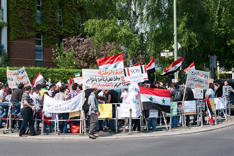 Ambassade Syrie A berlin - Photo copyright Didier Laget