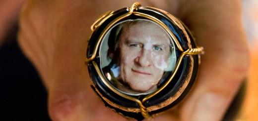 Depardieu en bouteille A berlin - Photo copyright Didier Laget