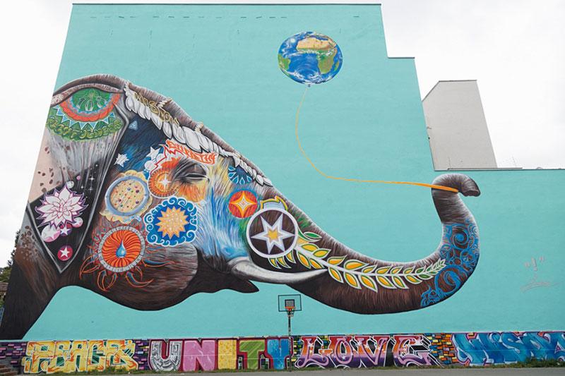 Elephant par Jadore Tong - Photo Didier Laget