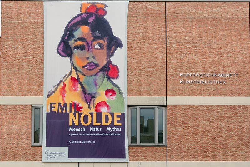 Emil-Nolde A berlin - Photo copyright Didier Laget
