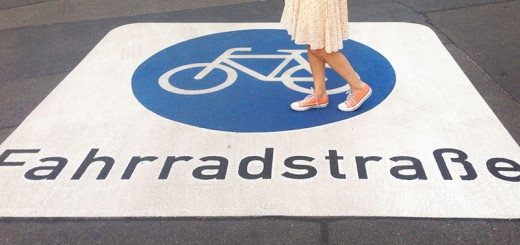 Fahrradstrasse A berlin - Photo copyright Didier Laget