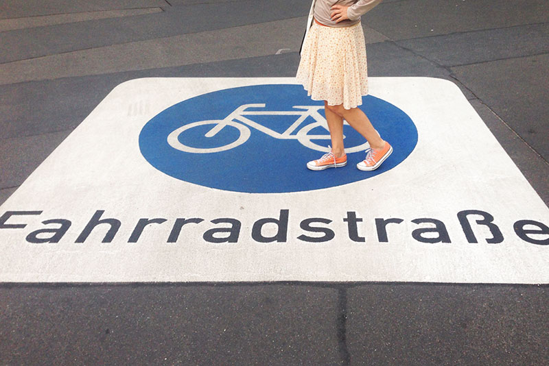 Fahrradstrasse A berlin - Photo copyright Didier Laget