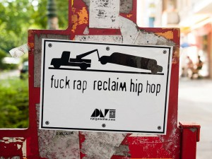 Fuck-Rap-reclaim-Hip-HopA berlin - Photo copyright Didier Laget