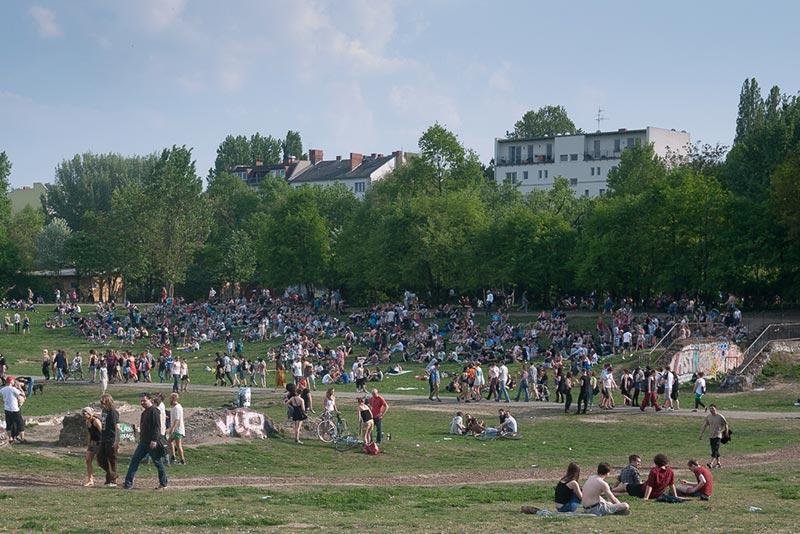 Gorlitzer-park A berlin - Photo copyright Didier Laget