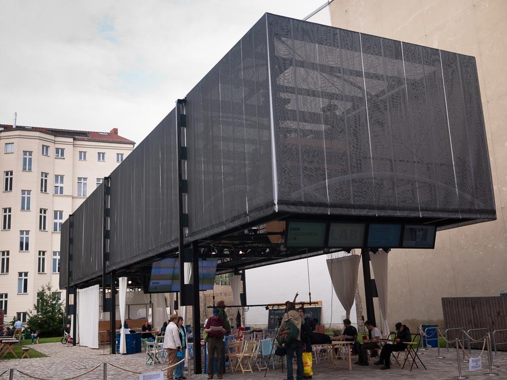 Guggenheim-Lab A berlin - Photo copyright Didier Laget