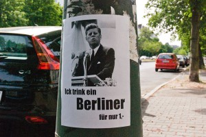 Ich-trink-ein-Berliner A berlin - Photo copyright Didier Laget