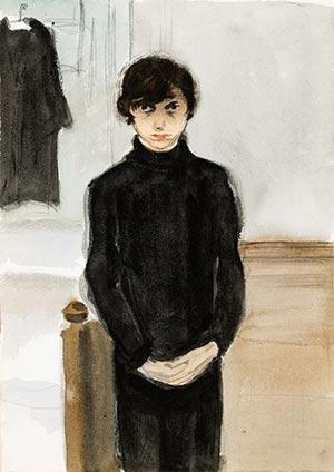 Jeanne-Mammen-Selbstportrait
