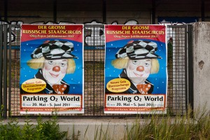 La-peur-du-clown A berlin - Photo copyright Didier Laget
