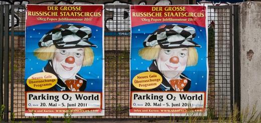 La-peur-du-clown A berlin - Photo copyright Didier Laget