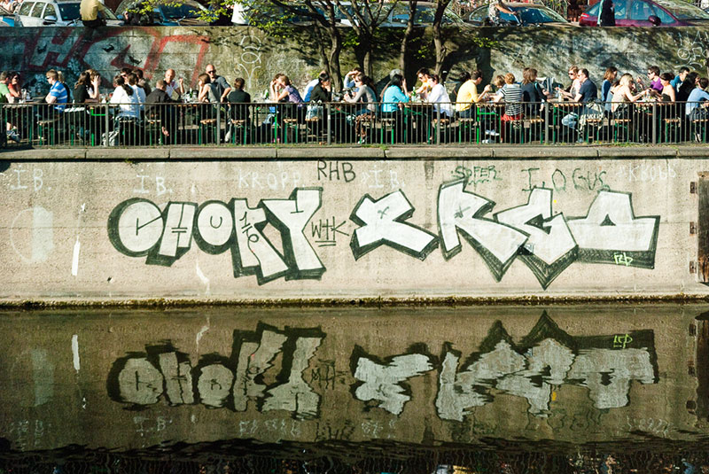 Landwehrkanal A berlin - Photo copyright Didier Laget