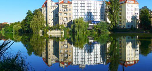 Le Lietzensee - Berlin Charlottenbourg