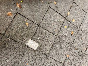 Le sol de la Mainzer Straße