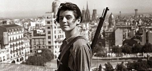 Copyright EFE, Fotograf Hans Gutmann, Marina Ginestà, Barcelona 1936