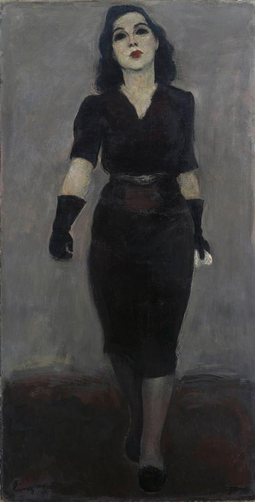 Portrait d'une resistante, Mademoiselle Yvonne, par Max Lingner