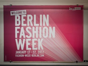 Berlin Fashion Week A berlin - Photo copyright Didier Laget