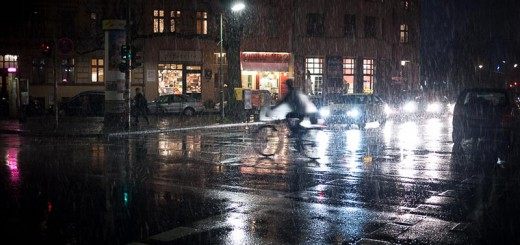 neige fondu dans Kreuzberg A berlin - Photo copyright Didier Laget
