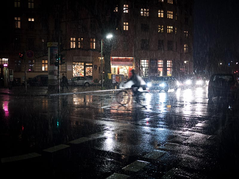 neige fondu dans Kreuzberg A berlin - Photo copyright Didier Laget