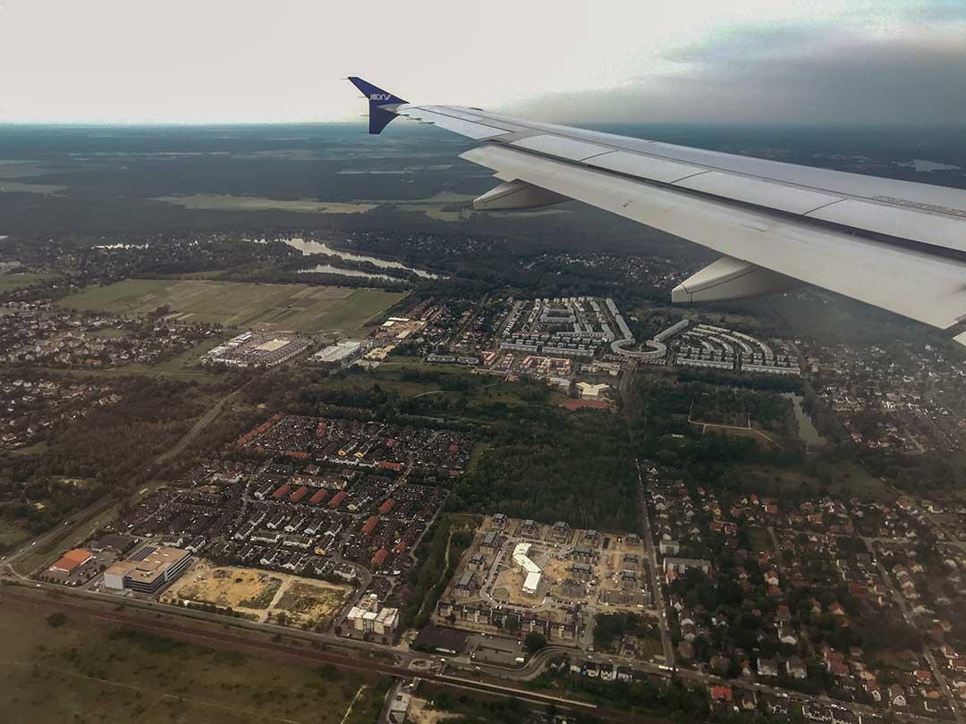 Potsdam vu du ciel