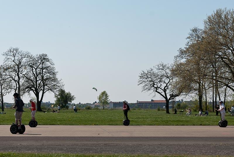 Segway-et-Bierbike A berlin - Photo copyright Didier Laget