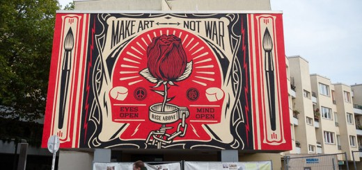 Shepard-Fairey A berlin - Photo copyright Didier Laget