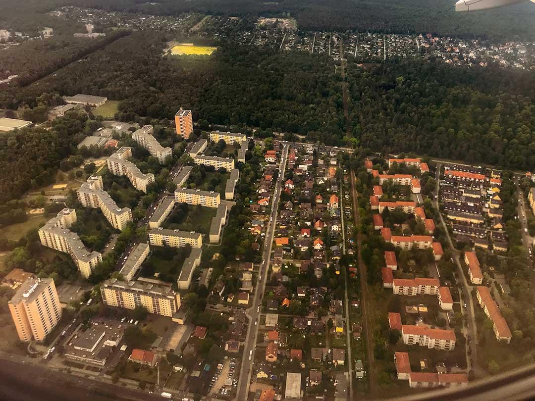 Berlin Spandau vu du ciel