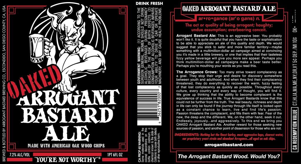 Arrogant Bastard - © stonebrewing.com