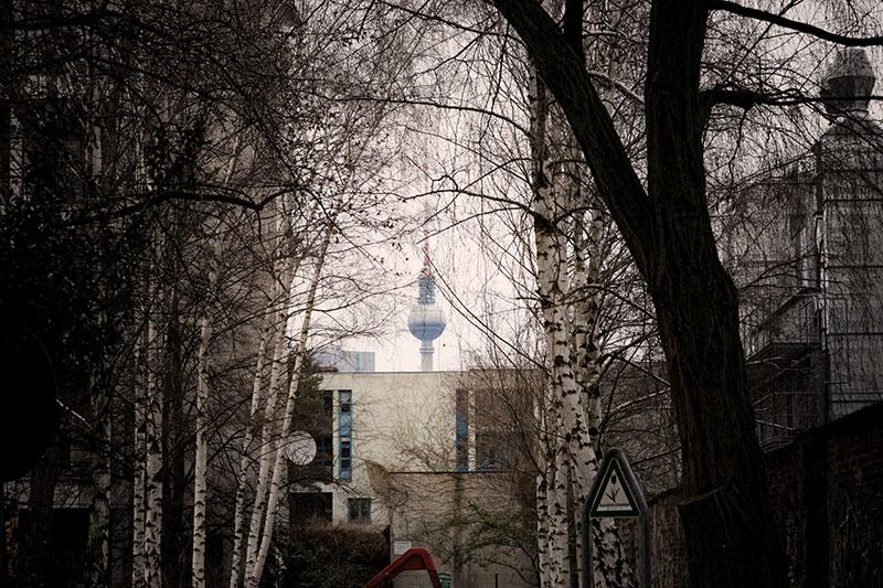 Tour e TV de Berlin en Décembre - Photo Didier Laget