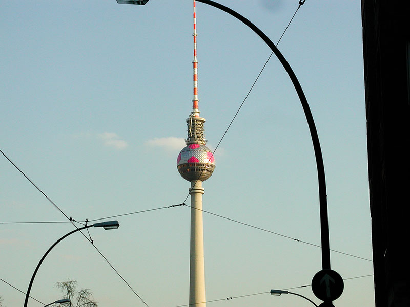 Berlin Fernsehturm A berlin - Photo copyright Didier Laget