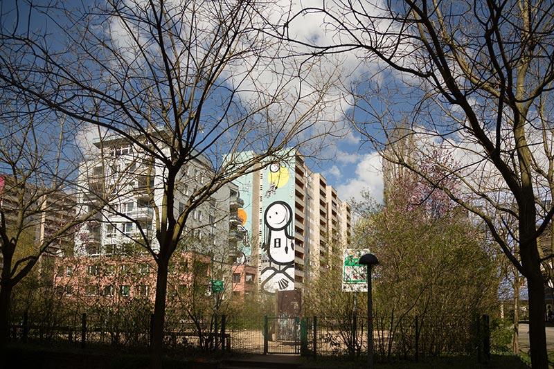 The-London-Police à L'alt Park Tegel -  photo Didier Laget