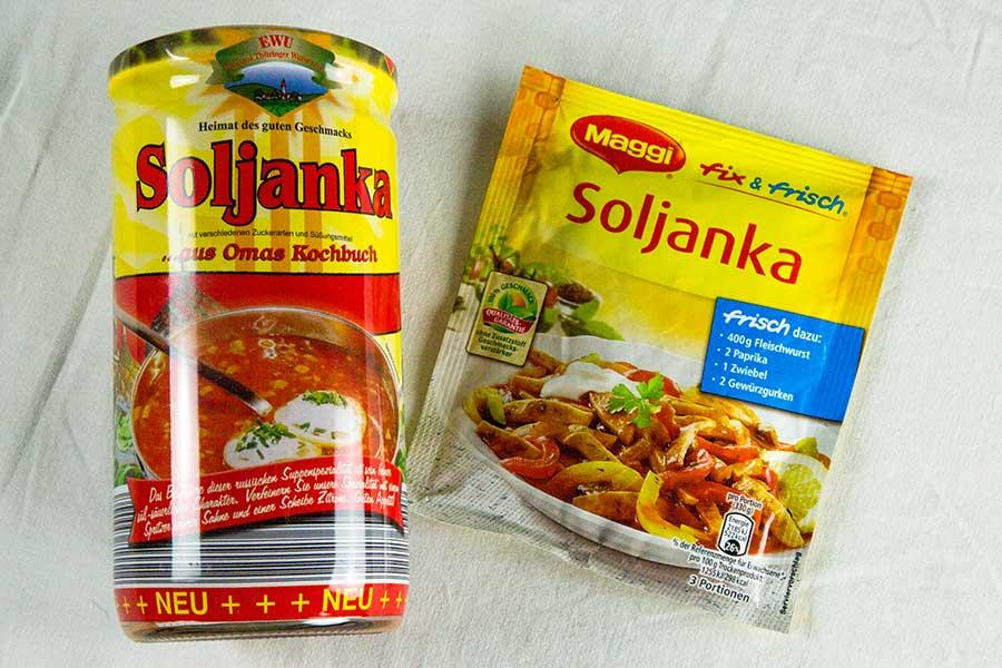 Version moderne de la Soljanka
