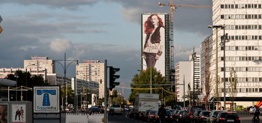 affiche A berlin - Photo copyright Didier Laget