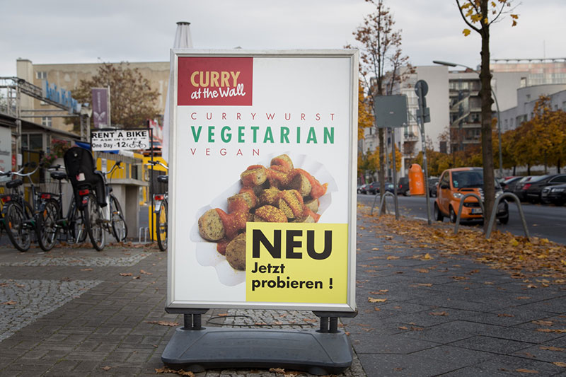 Currywurst Vegan