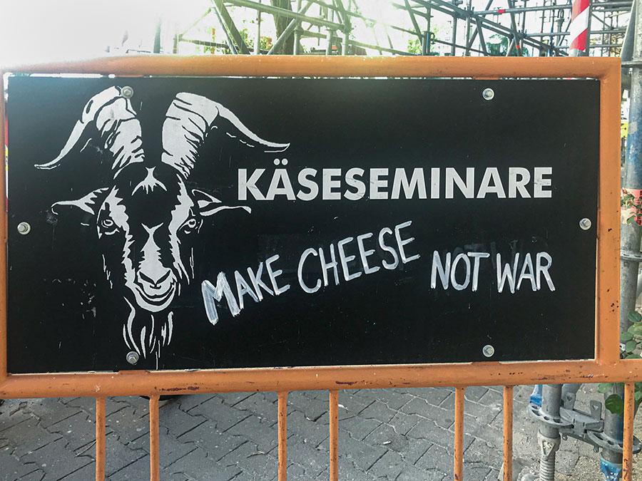 Make cheese not war