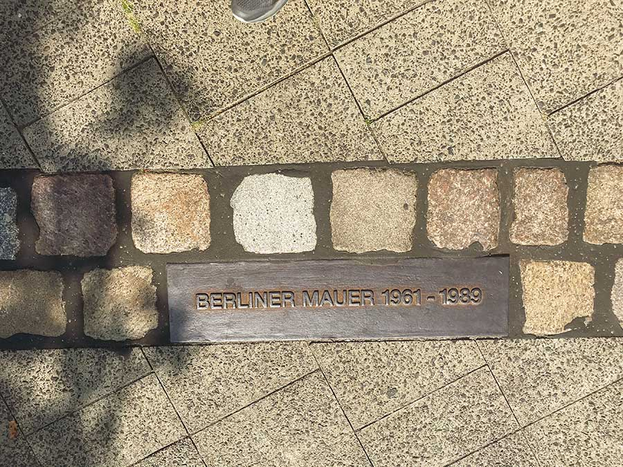 Axel-Springer-Straße - Le mur de Berlin - Photo Didier Laget